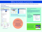 Populate Your Faculty Profile and Electronic Promotions and Tenure Roll with ERAU Scholarly Commons