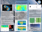 Observations and Simulations of Electromagnetic Waves in the Van Allen Radiation Belts