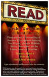 READ Poster Unveiling by Daryl R. Labello and Barbette Jensen