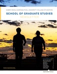 December 2020 School of Graduate Studies Newsletter