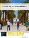May 2021 School of Graduate Studies Newsletter