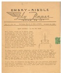Embry-Riddle Fly Paper 1941-10-15 by Embry-Riddle School of Aviation