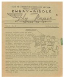 Embry-Riddle Fly Paper 1941-10-29 by Embry-Riddle School of Aviation