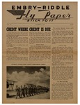 Embry-Riddle Fly Paper 1943-10-08 by Embry-Riddle School of Aviation