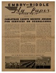 Embry-Riddle Fly Paper 1943-09-03 by Embry-Riddle School of Aviation