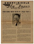 Embry-Riddle Fly Paper 1943-08-27