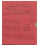 Embry-Riddle Fly Paper 1941-10-22 by Embry-Riddle School of Aviation