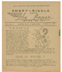 Embry-Riddle Fly Paper 1941-11-19 by Embry-Riddle School of Aviation