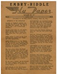 Embry-Riddle Fly Paper 1947-04 by Embry-Riddle School of Aviation