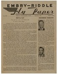 Embry-Riddle Fly Paper 1956-09 by Embry-Riddle School of Aviation