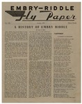 Embry-Riddle Fly Paper 1957-01 by Embry-Riddle School of Aviation