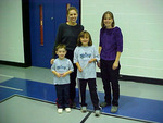 S5A3 - Little Priest Tribal College (LPTC) President Ann Downs and her two children 2002
