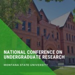National Conference of Undergraduate Research (NCUR) by Council on Undergraduate Research