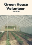 Greenhouse Volunteer by Deanna DeMattio