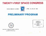 1984 Twenty-First Space Congress Preliminary Program