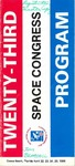 1986 Twenty-Third Space Congress Program