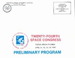 1987 Twenty-Fourth Space Congress Preliminary Program