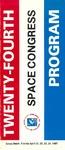 1987 Twenty-Fourth Space Congress Program