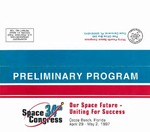 1997 Thirty-Fourth Space Congress Preliminary Program