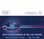 2000 Thirty-Seventh Space Congress Preliminary Program by Canaveral Council of Technical Societies